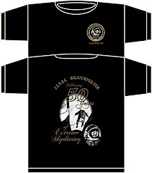 50th Kittinger HALO jump commemoration shirt