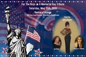 Memorial Day Tribute show poster