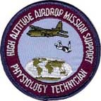 physiology technician patch