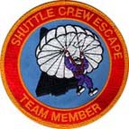 Shuttle Crew Escape patch