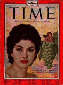Gina on cover of Time magazine