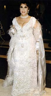Gina at 1998 Cannes Film Festival