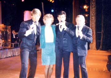 Gina with The Lettermen