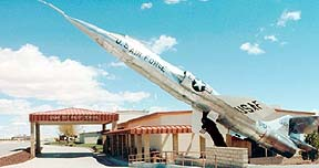 NF-104 at Edwards AFB Test 